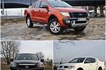 Ford Ranger Wildtrak 3.2 TDCi vs Mitsubishi L200 2.5 D-ID Dakar vs SsangYong Actyon Sports 2.0 D Sapphire AT FL