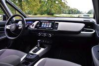 Honda Jazz 1.5 i-MMD Hybrid Crosstar Executive - deska rozdzielcza