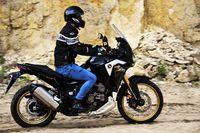 Honda CRF1100L Africa Twin Adventure Sports - podczas jazdy
