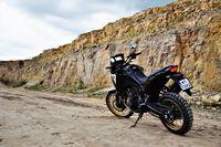 Honda CRF1100L Africa Twin Adventure Sports - sylwetka z tyłu