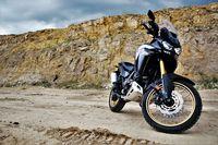 Honda CRF1100L Africa Twin Adventure Sports - sylwetka z przodu