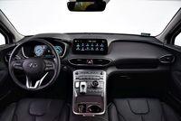 Hyundai Santa Fe 1.6 T-GDI HEV 6AT Platinum - deska rozdzielcza