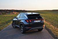 Hyundai Tucson 1.6 T-GDI HEV 6AT Platinum - z tyłu
