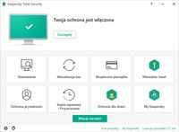 Kaspersky Total Security - zrzut ekranu