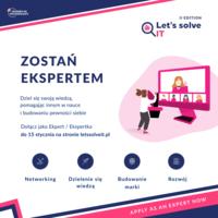 Startuje nowa edycja projektu Let's Solve IT!