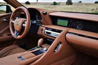 Lexus LC 500 CV - wnętrze