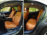 Lexus UX - fotele