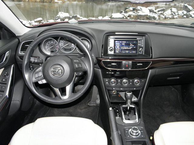 Poważne Mazda 6 2.5 SKYACTIV-G 6AT i-ELOOP SkyPASSION - wnętrze NZ29