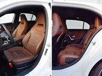 Mercedes-Benz A 200 7G-Tronic - fotele