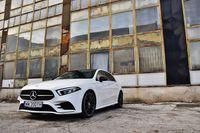 Mercedes-Benz A 200 7G-Tronic - z przodu
