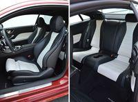 Mercedes-Benz E 400 4MATIC Coupe - fotele