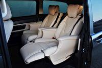 Mercedes-Benz V 300 d 4MATIC - fotele, drugi rząd