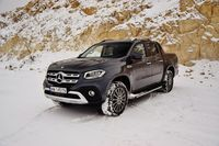 Mercedes-Benz X 350 d 4MATIC X Power - z przodu