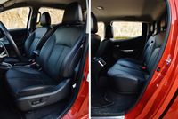 Mitsubishi L200 2.2 D 4WD AT Instyle Plus - fotele