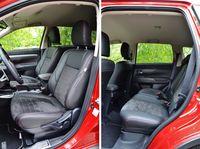 Mitsubishi Outlander 2.0 4WD CVT Calligraphy - fotele
