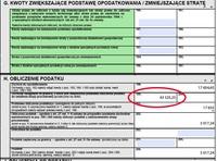 Dochody zwolnione z podatku w PIT-36