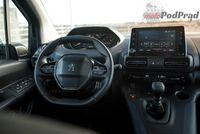 Peugeot Rifter Allure - deska rozdzielcza