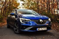 Renault Megane Grandtour E-TECH - hybryda dla oszczędnych