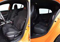 Renault Megane R.S. - fotele