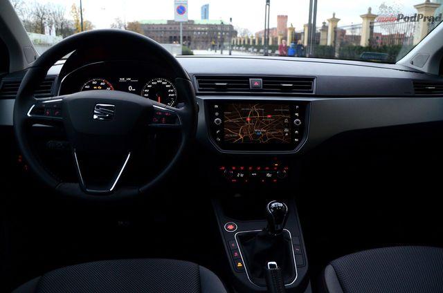 Świeże Seat Ibiza Xcellence 1.0 TSI - wnętrze JX47
