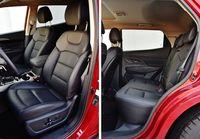 SsangYong Korando 1.6 E-XDI AT 4WD Sapphire - fotele