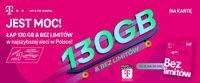 130 GB na 30 dni za 30 zł dla klientów T-Mobile na kartę