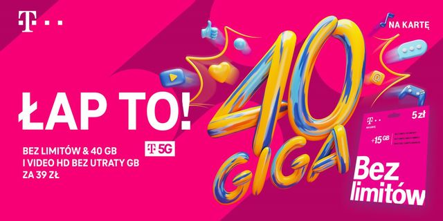 Sieć 5G dostępna w T-Mobile na kartę
