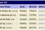 Polskie spółki najlepsze w Europie Środkowej