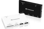 Transcend: czytnik kart i hub USB w jednym
