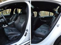 Volvo S60 Cross Country D4 Geartronic Summum - fotele