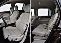 Volvo XC90 B5 Inscription - fotele