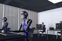 Roboty w biurze