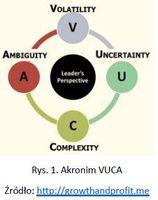 Rys. 1. Akronim VUCA
