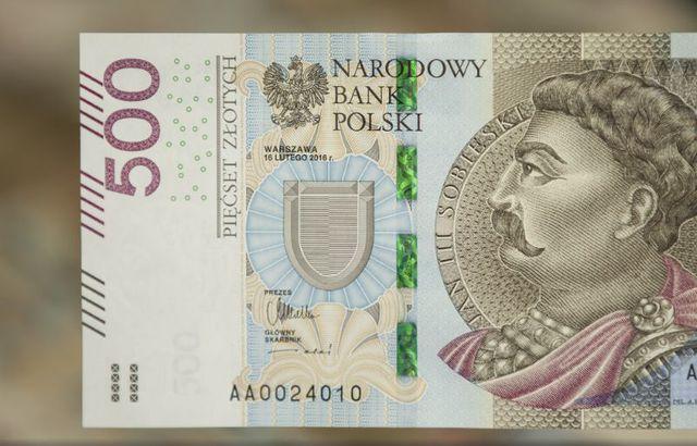 Oto nowy banknot 500 zł