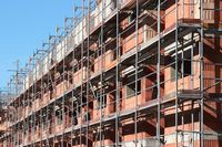 Budownictwo mieszkaniowe I-II 2021: mniej oddanych mieszkań