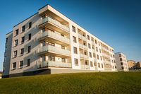 Budownictwo mieszkaniowe I-IV 2021: więcej oddanych mieszkań