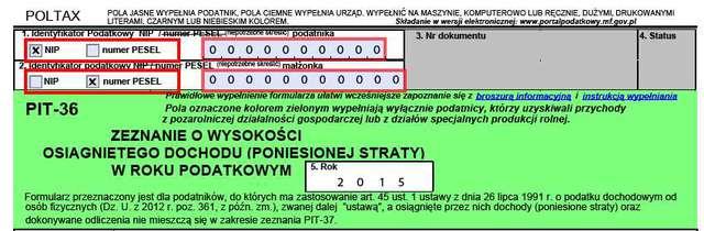 Poradnik PIT-36: jak wypełnić e-Deklaracje za 2015 r.