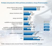 Co finansują pożyczki i kredyty Polaków?