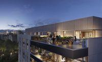 Central Garden Apartments - taras