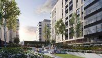 Central Garden Apartments - dziedziniec