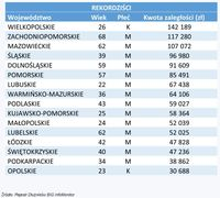 Dłużnicy - rekordziści