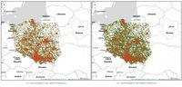 Polska: mapy (2.03 vs 16.03)