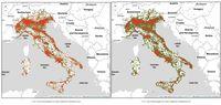 Włochy: mapy (2.03 vs 16.03)