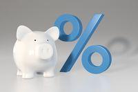 Oprocentowanie lokat bankowych to symboliczne 0,58%