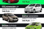 12 aut na abonament za mniej niż 1000 zł