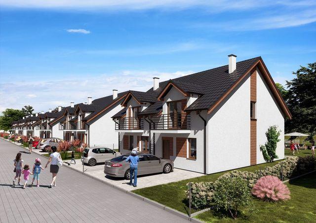 Osiedle Owocowe: nowe domy bliźniaki pod Poznaniem