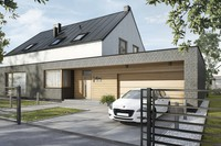 Nowe osiedle domów w Kępie Zawadowskiej