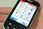 Palmtopy z serii Acer c-500 z GPS