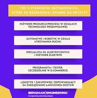 TOP 5 stanowisk inżynierskich, które są najbardziej oporne na kryzysy