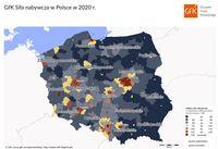 Siła nabywcza w Polsce w 2020 roku
